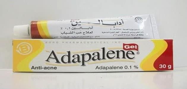 دواعي استعمال أقراص أدابالين Adapalene والآثار الجانبية