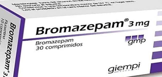 دواعي استعمال برومازيبام Bromazepam والآثار الجانبية