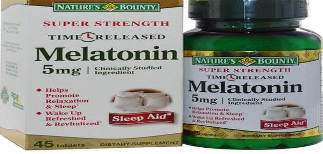 دواعي استعمال دواء ميلاتونين Melatonin وأهم التحذيرات