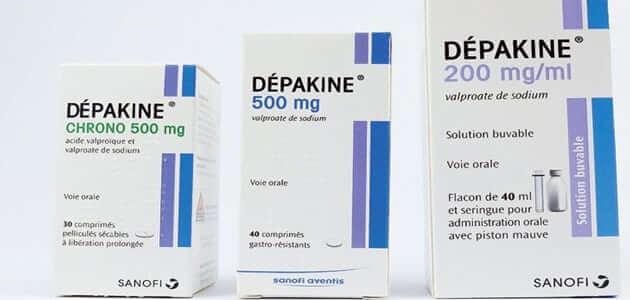 دواعي استعمال ديباكين Depakine الجرعة وأهم التحذيرات