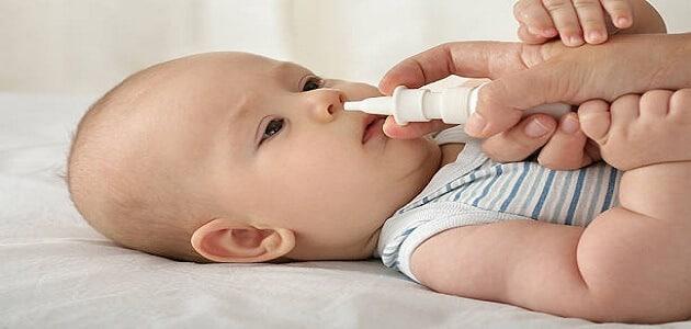 علاج البرد عند الاطفال والرضع