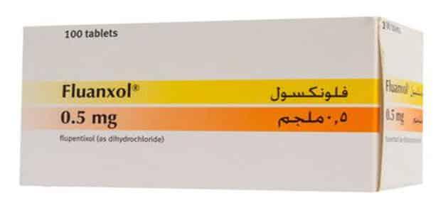 معلومات عن دواء فلوناكسول Flupenthixol والآثار الجانبية
